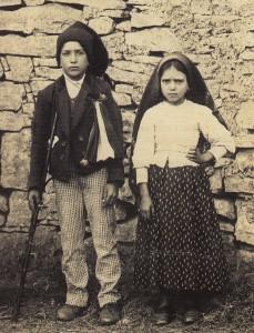Die Seligen: Jacinta und Francesco